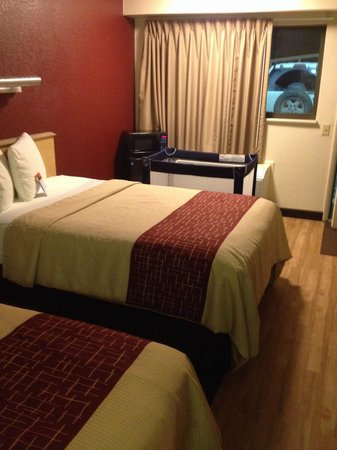 Red Roof Inn Binghamton - Johnson City: Nicely decorated and clean