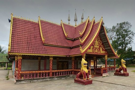 Muang Sing, ลาว: A Thai Lü Buddhist temple