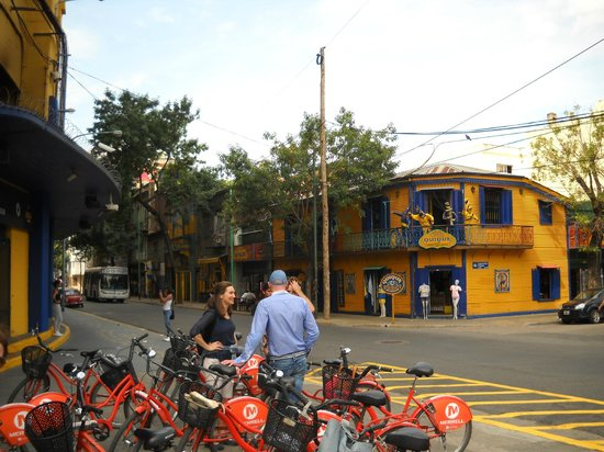 "ViaVia Buenos Aires: Bike-tour with ""bicicleta naranja"""