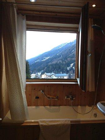 Hotel Garni Ernst Falch: bathroom view