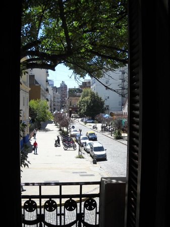 ViaVia Buenos Aires: The view from the balcony