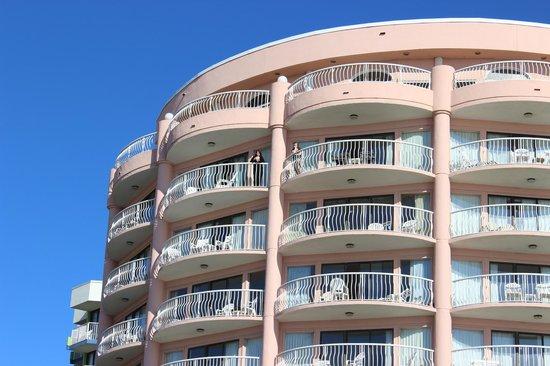 St. Clements Suites: Balcony