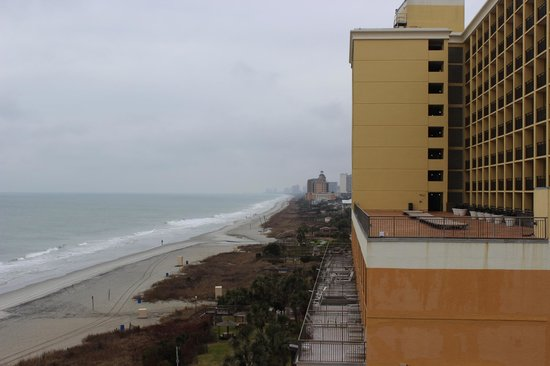 St. Clements Suites: View from our room