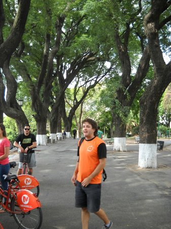 ViaVia Buenos Aires: A daily trip from the hostel, a bike tour to the south or the north