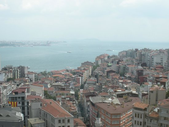 Taksim Select Hotel: view from dining room