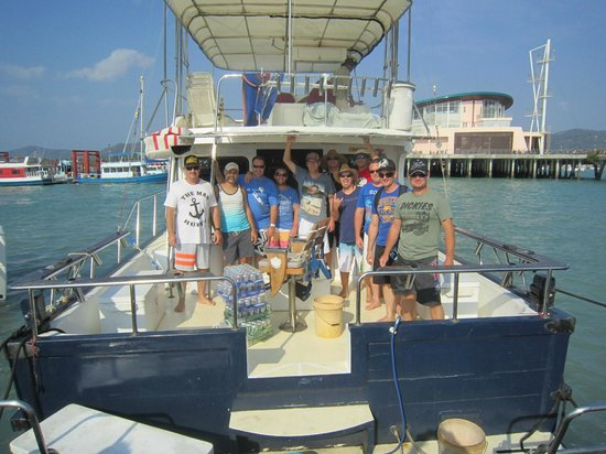 Thai on ii hall pass tour thailand 2014 picture of for Fishing charters cleveland ohio