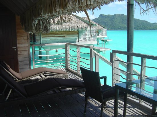InterContinental Bora Bora Resort & Thalasso Spa: varanda do Bangalo