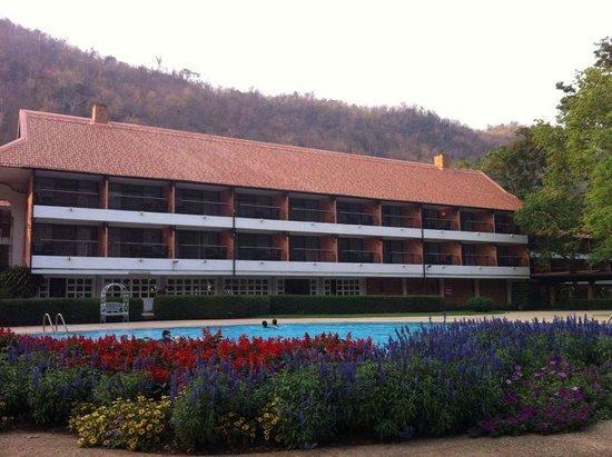 Balios Resort Khaoyai: Main building/lobby