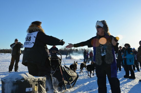 """907 Tours: Anchorage - Day Tours: How personal - how about a """"High-Five!"""""""
