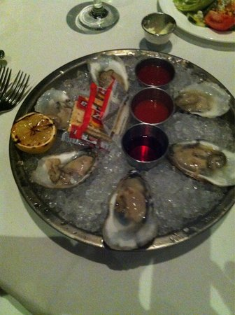 The Boathouse at Rocketts Landing Restaurant: Oysters