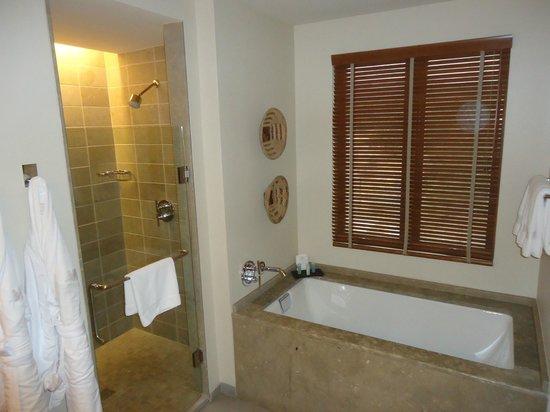Four Seasons Resort Rancho Encantado Santa Fe: Amazing bathrooms