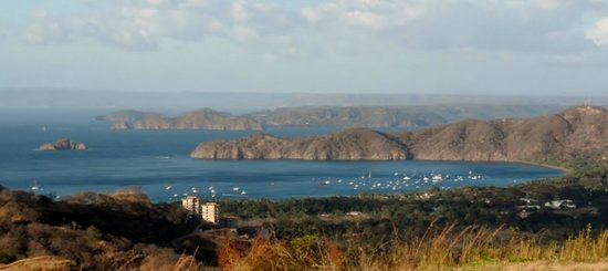 Papagayo Gulf Sport Fishing - North Pacific Tours : My morning view on my hike after the boat leaves!