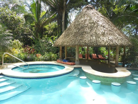 Ian Anderson's Caves Branch Jungle Lodge: Hottub