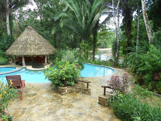 Ian Anderson's Caves Branch Jungle Lodge: Pool