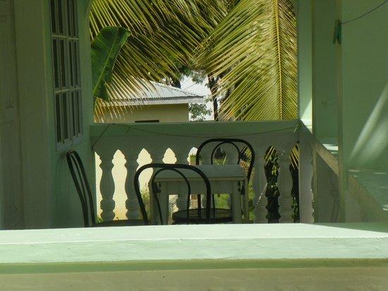 Gekko Lodge : Private balcony