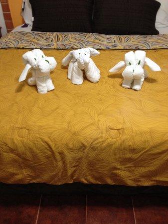 Suites Fenicia: Animal towels