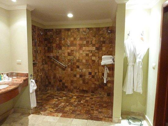 Valentin Imperial Maya : Huge tiled shower