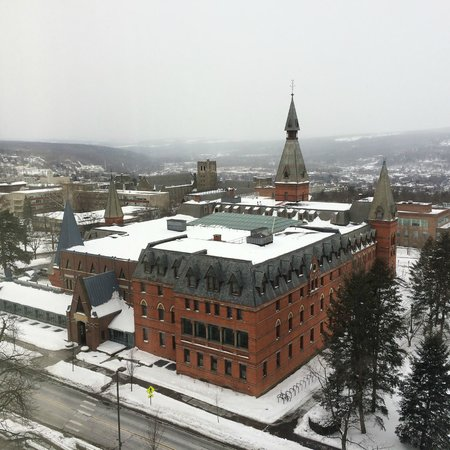 The Statler Hotel at Cornell University: Sage Hall from Room 912