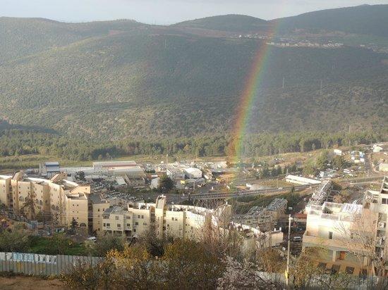 Ruth Rimonim: Rainbow in Tzfat