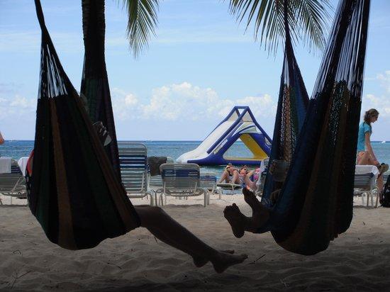 Fury Catamarans - Tours: Resting in a hammock