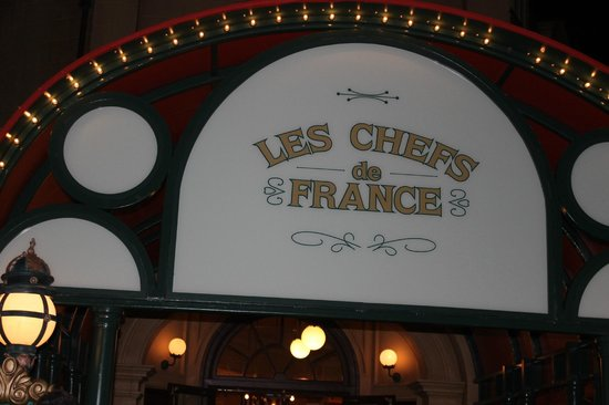 EPCOT : Dinner in France