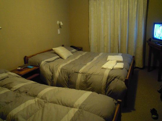 Hosteria El Alamo: Habitación confortable