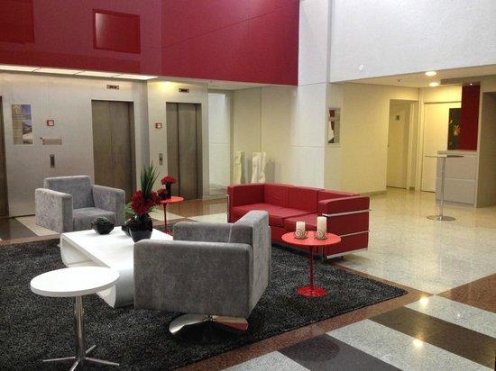 Adagio São Paulo Moema: Hotel recepção