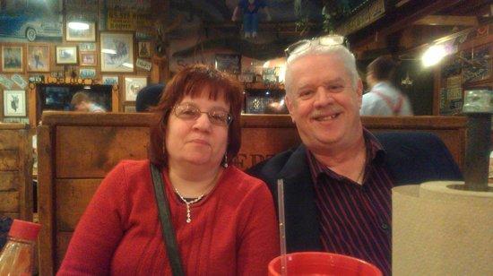 Lambert's Cafe : Happy Us Ann and John