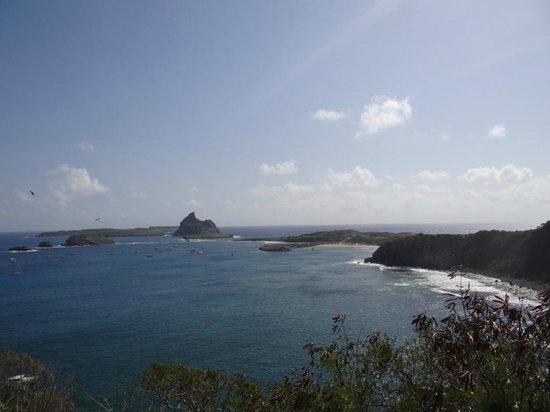 Fortaleza N S dos Remedios : ótima vista do porto e ilhas secundárias
