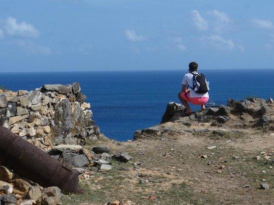 Fortaleza N S dos Remedios : vista do mar
