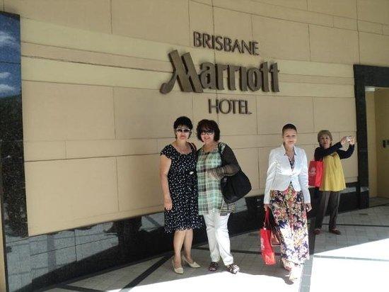 Brisbane Marriott Hotel: Главный вход в отель