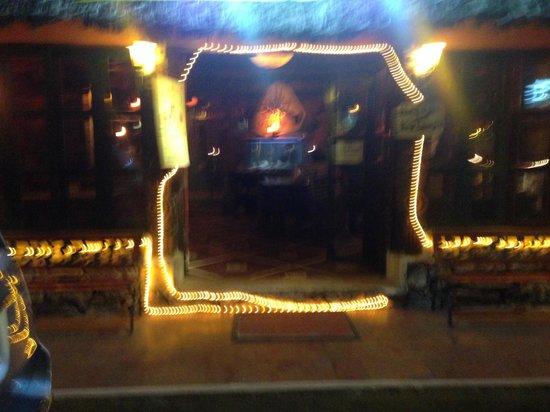 La Cabana del Pescador: restaurant entrance