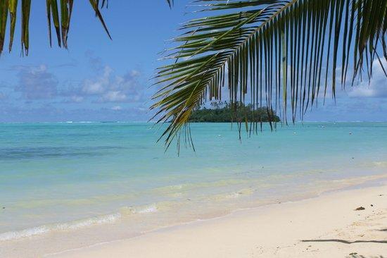 Dorothy's Muri Beach Bungalows: Muri beach/lagoon
