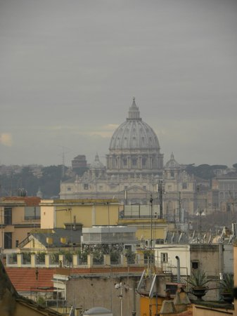 Nuovo Hotel Quattro Fontane: View from the room