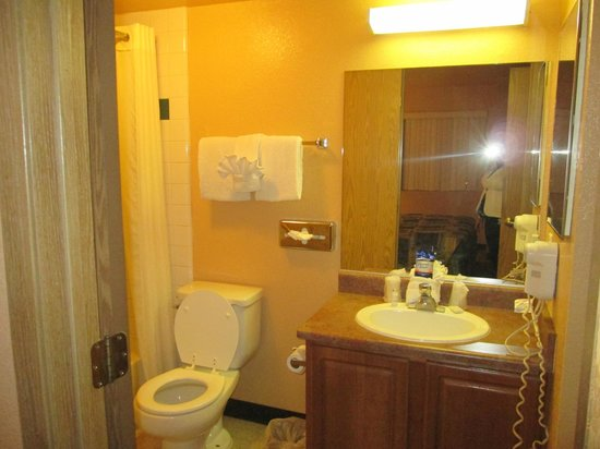 Nellis Suites at Main Gate: Bathroom