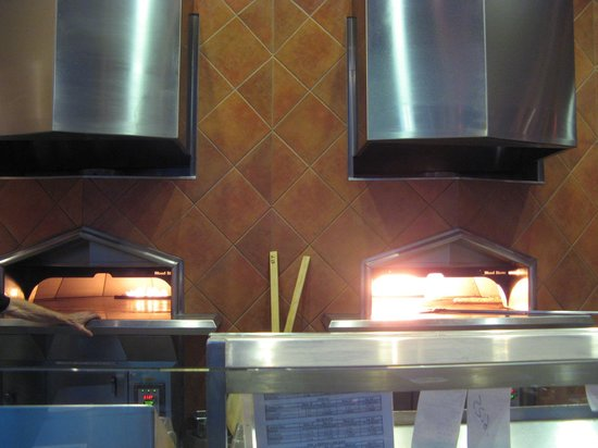 Amici's East Coast Pizzeria: Brick Ovens