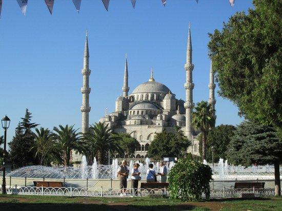 Historic Areas of Istanbul: Santa sofía