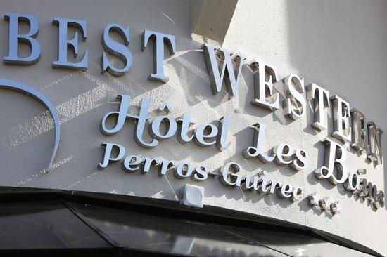 Best Western Les Bains de Perros-Guirec Hotel et Spa : Bienvenue
