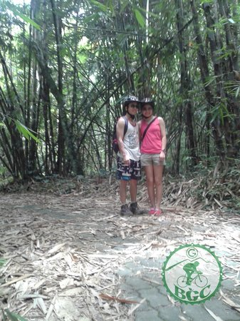 Bali Grace Cycling : bamboo forest