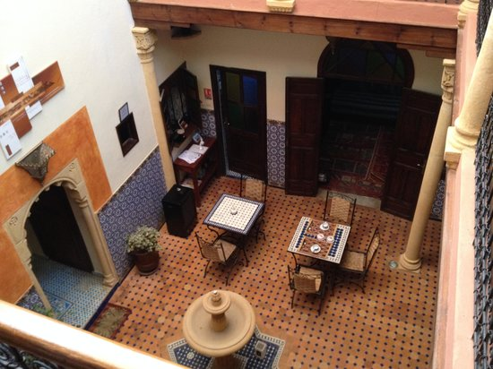 Dar Yanis : A view of the interior