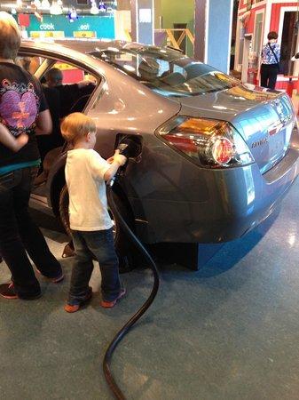 Mississippi Children's Museum: Car care