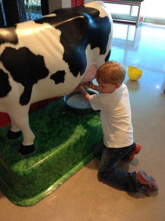 Mississippi Children's Museum: On the farm