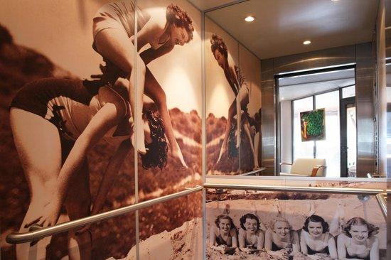 Best Western Les Bains de Perros-Guirec Hotel et Spa : Ascenceur