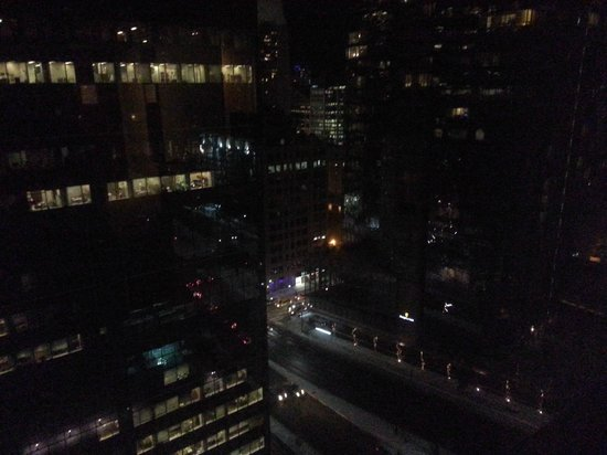 Hilton Toronto: View from my Room at Night