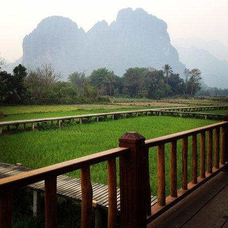 Vieng Tara Villa : Good View room N.1