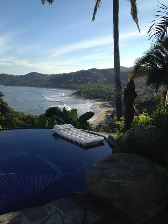 Casa Kukana: View from our infinity pool