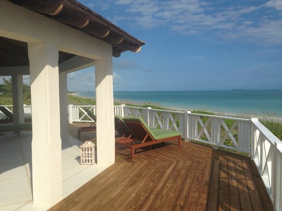Kamalame Cay: View from deck at Magnolia House