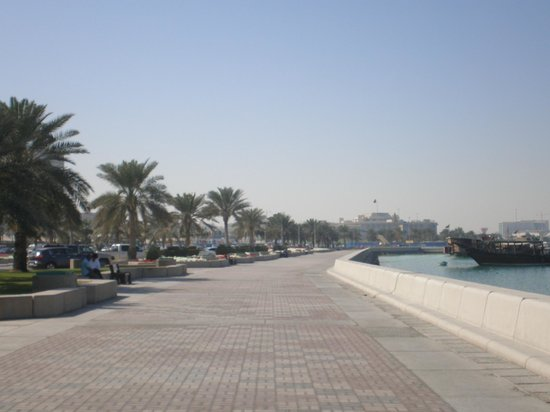 The Corniche harbour