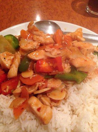 Rice Box Szechuan chicken u0026 rice £6. Spicy but otherwise bland & Szechuan chicken u0026 rice £6. Spicy but otherwise bland - Picture ... Aboutintivar.Com