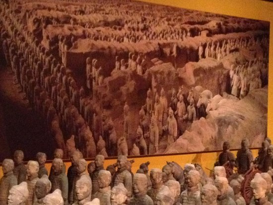 Epcot: The Terra-cotta Warriors!! Loved it!